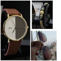 Used Genuine Leather Watch ☆Bracelet ☆Glasses in Dubai, UAE