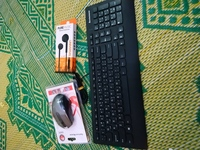 Used Lenovo keyboard and mouse and headphone in Dubai, UAE