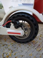 Used Electric scooter M365 solid tires in Dubai, UAE