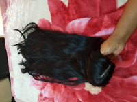 Used Sythentic black long wig in Dubai, UAE