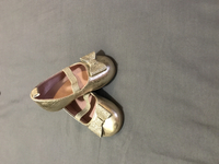 Used Brand new #Golden#Shoes From #H&M. Size 18-19. in Dubai, UAE
