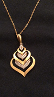 Used gold chain 22k n charm 21k in Dubai, UAE