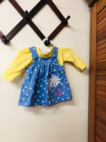 Used 2 Baby girl dress + 2 branded shoes  in Dubai, UAE