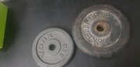 Used Wieghts and pull ups  abs stand in Dubai, UAE