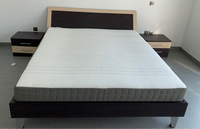 Used King size mattress from Ikea, like new!  in Dubai, UAE
