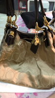 Used Coach gold bag in Dubai, UAE