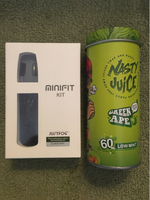 Used MiniFit Vapor + Refillable Pod + E-Juice in Dubai, UAE