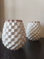 Used 2 Crate and Barrel decor vases in Dubai, UAE