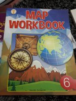 Used Map workbook grade 6 in Dubai, UAE