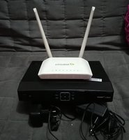 Used Etisalat TV Box with remote and Router in Dubai, UAE