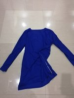 Used Dress New Blue free size in Dubai, UAE