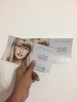 Used 400dhs and 200dhs voucher-RIVOLI in Dubai, UAE