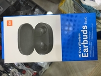 Used Xiaomi airdots wireless earbuds black in Dubai, UAE