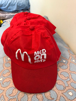 Used 4 pieces McDonald's hats in Dubai, UAE