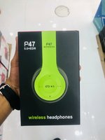 Used P47 headphone green color in Dubai, UAE