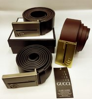 Used Branded belt men in box in Dubai, UAE