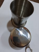 Used Stainless Steel Collapsible Cup 2 pcs. in Dubai, UAE
