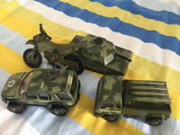 Used Military cars toys set in Dubai, UAE