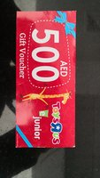 Used Toy's R Us AED 500 Voucher in Dubai, UAE