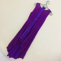 Used Elegant cocktail lace dress New size XL in Dubai, UAE