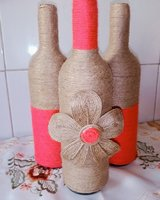 Used Beautiful bottle vases in Dubai, UAE