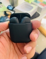 Used 2 pcs Black edition i12 AIRPODS in Dubai, UAE
