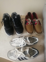 Used ZARA,ADIDAS SHOES FOR MEN,SIZE44..3pairs in Dubai, UAE