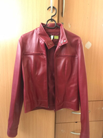 Used Original Vero Moda Leather Jacket S-size in Dubai, UAE