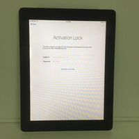 Apple ipad 2 3g # I cloud lock