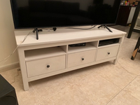 Used TV stand white in Dubai, UAE