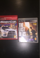 Used PS3 Midnight Club And The Last of us in Dubai, UAE