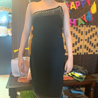 Used Evening Dress Black UK 6-8-10 in Dubai, UAE