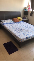 Used Home Centre Queen size bed with Matress in Dubai, UAE