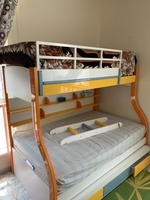 Used Bunk bed has 3 beds (including2mattress) in Dubai, UAE