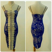 Used New Blue unique short dress for LADIES in Dubai, UAE