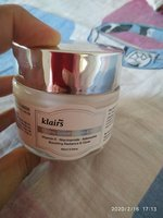 Used Klaris freshly juiced vitamin  E mask in Dubai, UAE