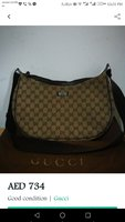 Used Gucci bodybag canvass preloved in Dubai, UAE