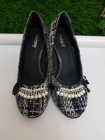 Used Missy tweed heels |Size 37| in Dubai, UAE