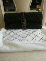 Used CHANEL CLUTCH PURSE.NOT ORIGINAL. in Dubai, UAE