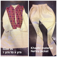 7 yrs kurta pajama jacket