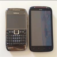 HTC Sensation XE And Nokia E71. Used But Working Perfectly. No Noticeable Flaws. Comes With Chargers.