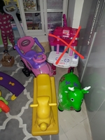 Used 3 kids riding toys in Dubai, UAE