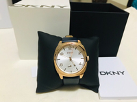 Used DKNY Ladies watch with leather strap in Dubai, UAE