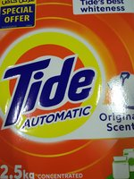 Used Tide washing powder 2.5kg x 2 pcs in Dubai, UAE