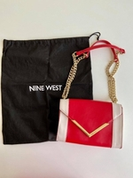 Used Nine West Shoulder Bag / Sling Bag w/ Ta in Dubai, UAE