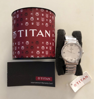 Used Titan Stainless steel watch unisex  in Dubai, UAE