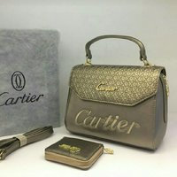 CARTIER HANDBAG  WALLET  SET
