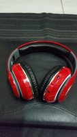 Used Blutooth Headphone STN-13 New Pack Red. in Dubai, UAE