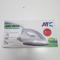 Used ATC Non stick soleplate dry iron*used* in Dubai, UAE