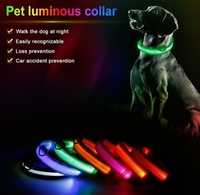 Used Buy 1 get 1 free LED pet leash collar in Dubai, UAE